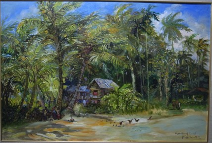 The Vanishing Kampong Silat 4 80cm x 120cm