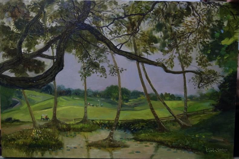 Serapong Golf Course Sentosa 90cm x 60cm