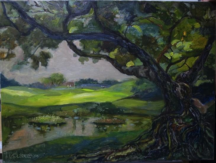 Serapong Golf Course Sentosa 59cm x 81cm