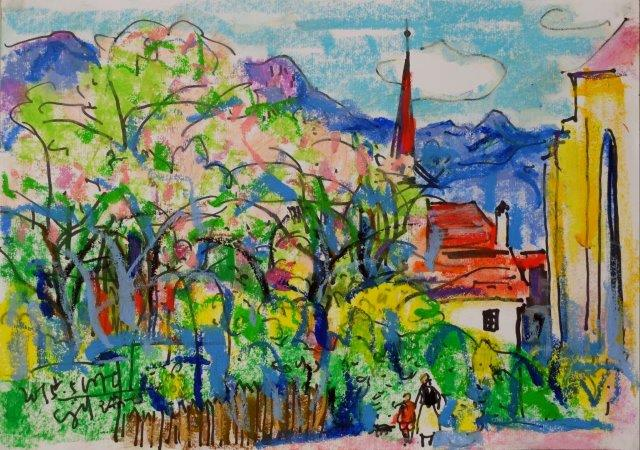 Spring Is Here Switzerland 21cm x 29.5cm