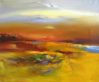 The Vast Desert 110cm x 90cm