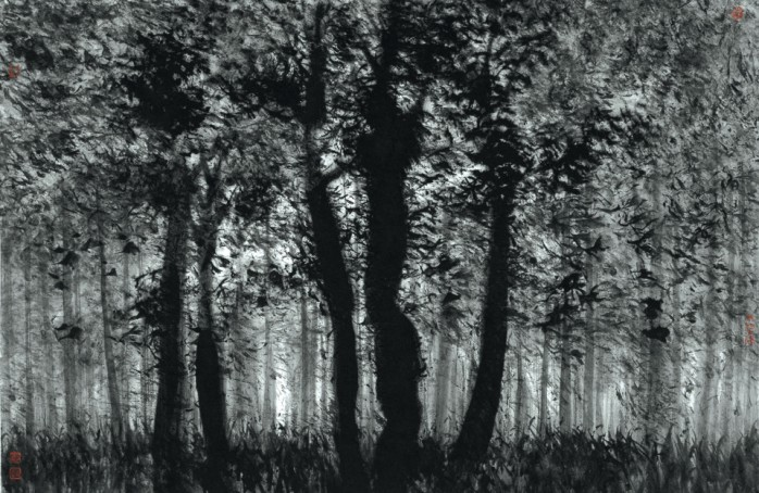The Woods 45cm x 96cm
