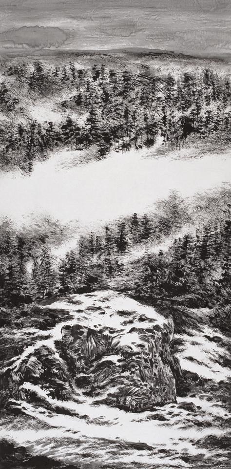 Snow Clad 2 137cm x 68cm