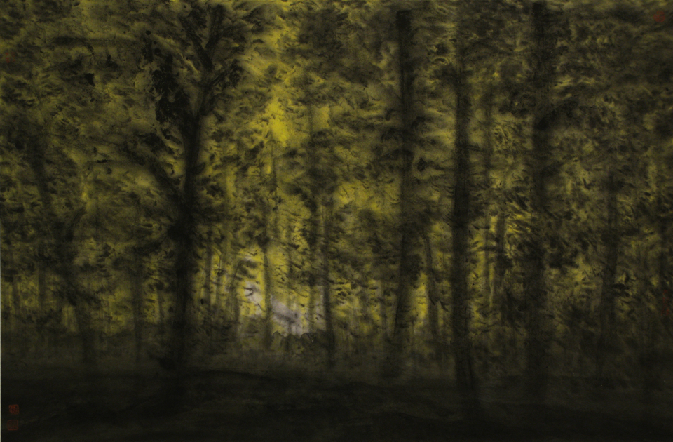The Woods 4 46cm x 68cm