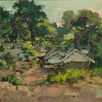 Village in Phuket 62cm x 72cm