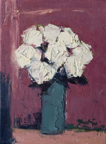 White Roses 31cm x 23cm