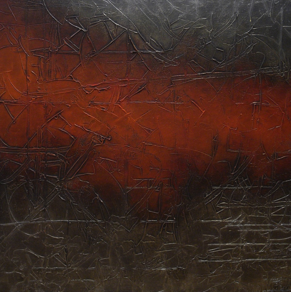 At the Heart of the Machine 92cm x 92cm