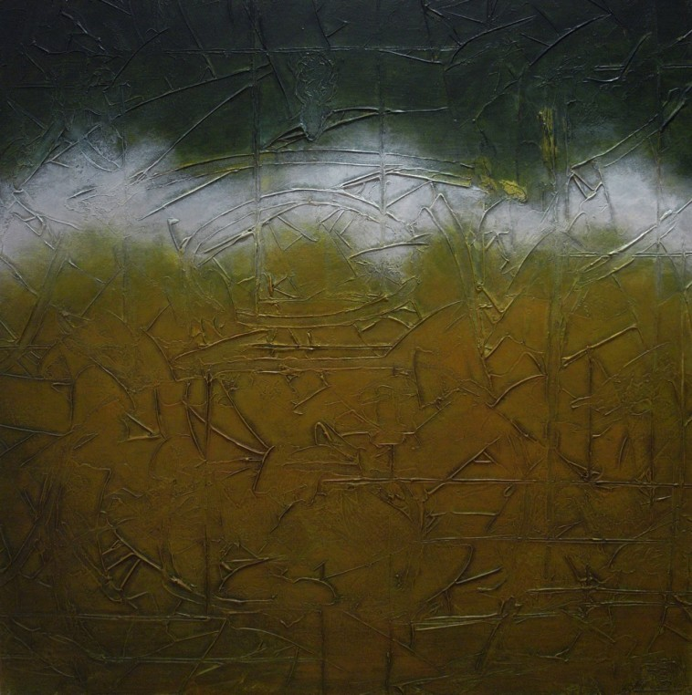 Journeying Onwards 92cm x 92cm