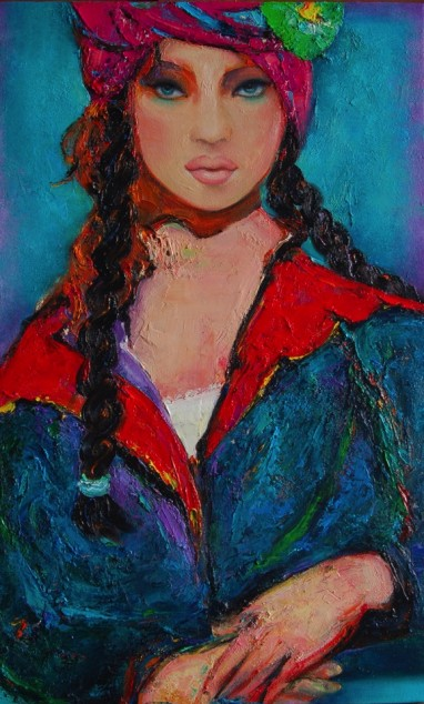 The Beguiling Braids 65cm x 40cm
