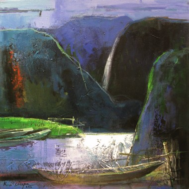 Beauty of the Hill 60cm x 60cm