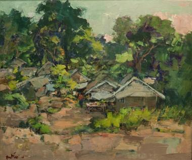 Village in Phuket 62cm x 72cm